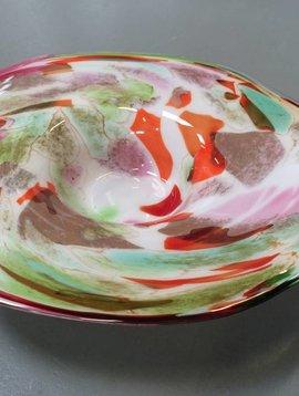 Fidrio Glazen schaal Mixed Colors