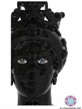 Sicily & More Queen Black Glazed