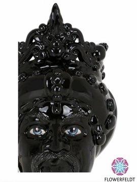 Sicily & More King Black Glazed