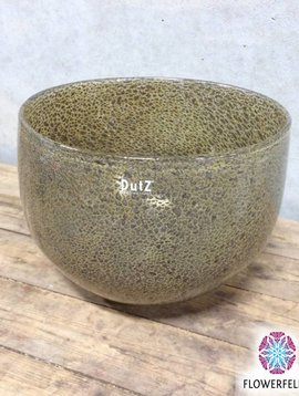 DutZ Bowl vase silverbrown