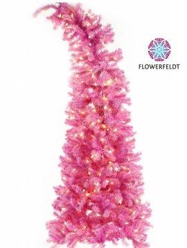 Goodwill Christmas tree pink