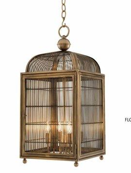Eichholtz Bird cage lamp brass