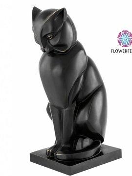 Eichholtz Bronze cat