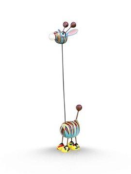 Mia Coppola Crazy Giraffe Warhol design