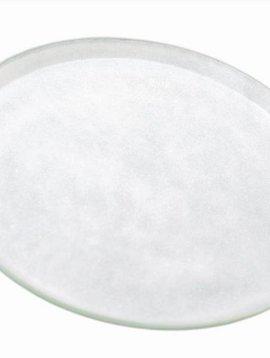 DutZ Schaal wit glas
