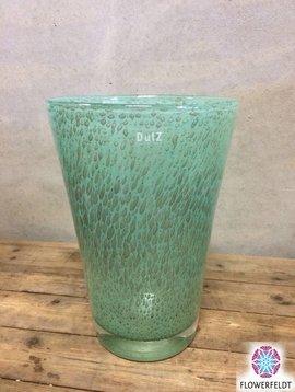 DutZ Vaas conic bubbels jade