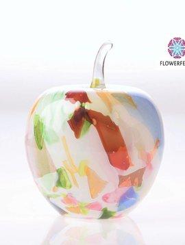 Fidrio Glazen appel Mixed Colors