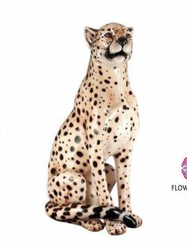 Pot en Vaas Cheetah beeld