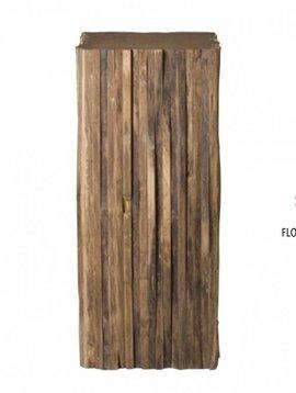Pot en Vaas Teak column large