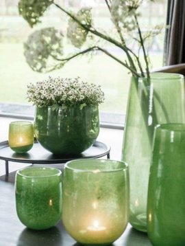 DutZ Vase Robert jungle green
