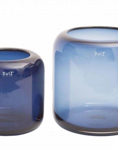 Dutz Vase Mazurka Navy Blue Flowerfeldt