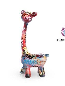 Mia Coppola Standing Giraffe Graffiti