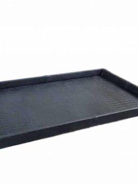 Pot en Vaas Leather tray croco black M