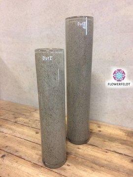 DutZ Cylinder vase tall new grey