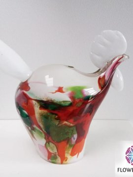 Fidrio Glass chicken Mixed Colors