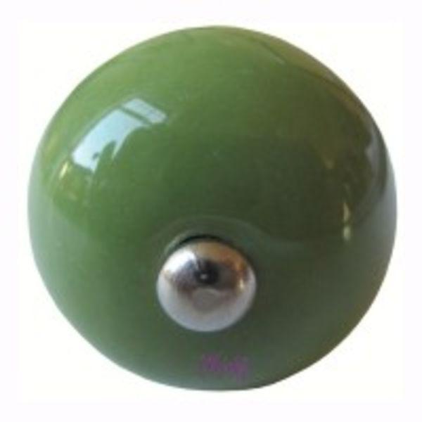 Deurknopje groen klein