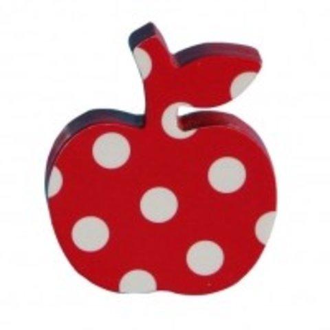 Pakhuis Oost deurknop appel polkadots rood