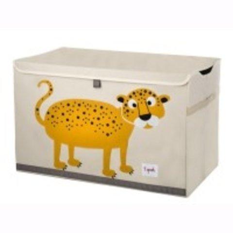 3 Sprouts speelgoedkist luipaard