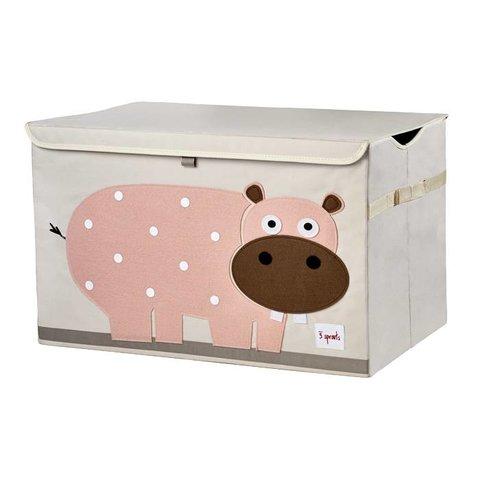3 Sprouts speelgoedkist nijlpaard