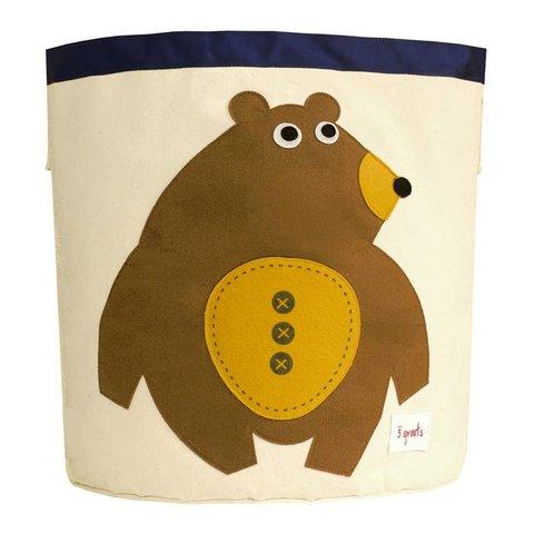 3 Sprouts speelgoedmand beer
