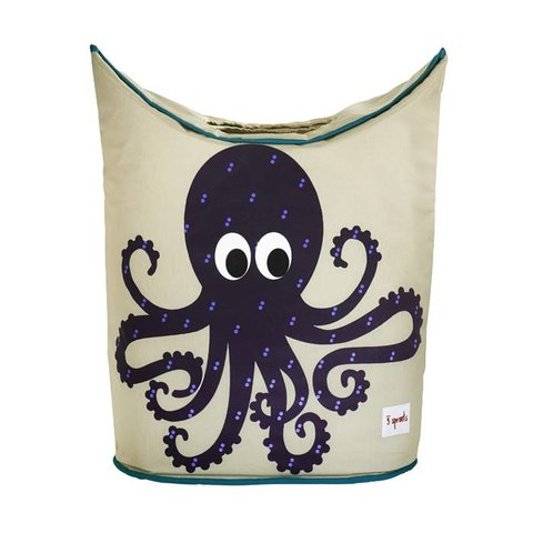 3 Sprouts wasmand kinderkamer octopus