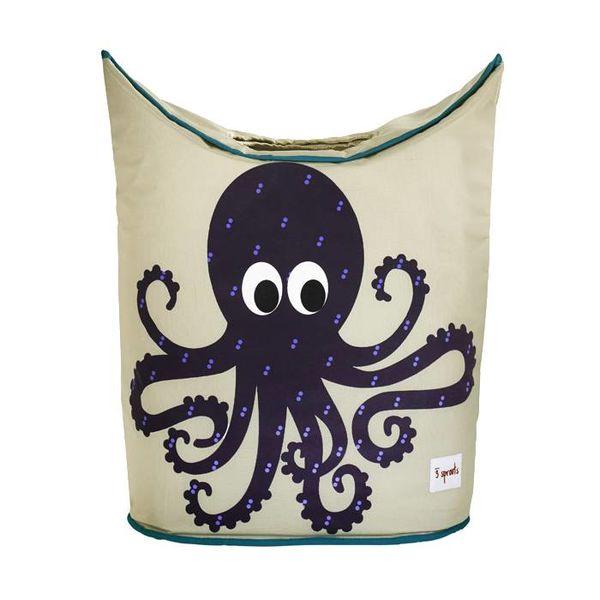 3 Sprouts 3 Sprouts wasmand kinderkamer octopus