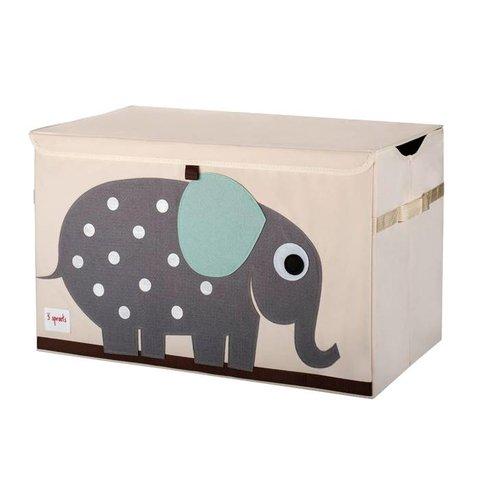 3 Sprouts speelgoedkist olifant