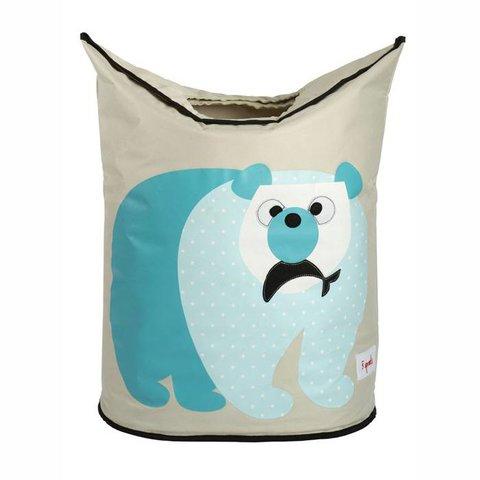 3 Sprouts wasmand kinderkamer ijsbeer