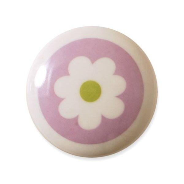 Aspegren Denmark Aspegren deurknopje kinderkamer bloem lichtpaars