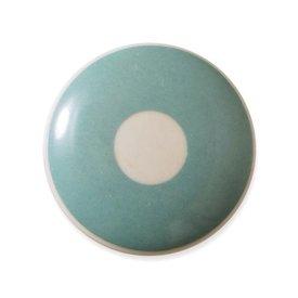 Aspegren Denmark Aspegren deurknopje kinderkamer polka lichtblauw