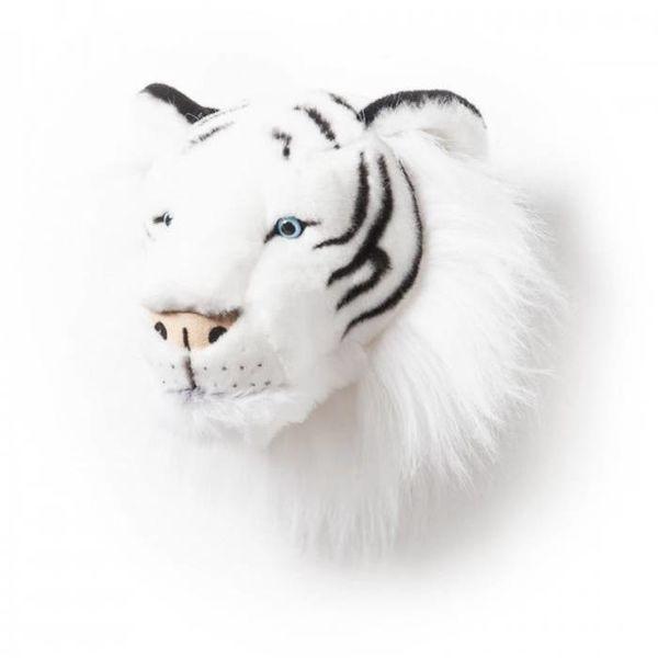 BiBiB Wild & Soft dierenkop tijger wit
