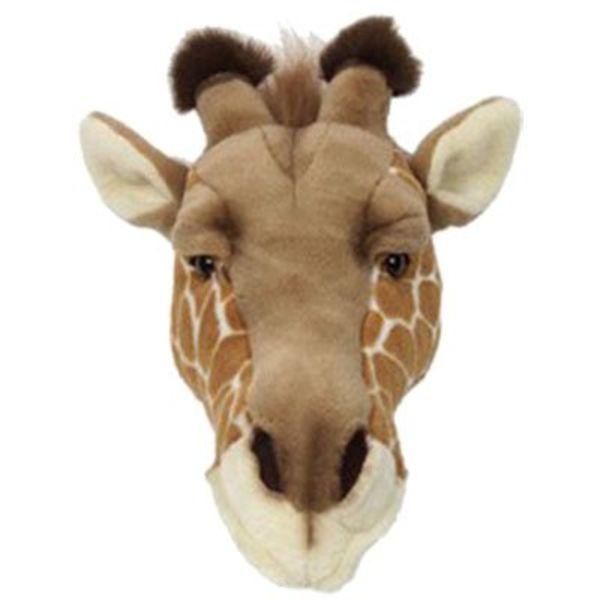 Wild & Soft Wild & Soft dierenkop pluche giraffe