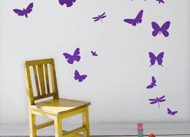 Lamp Kinderkamer Paars : Vlinder kinderkamer kidzsupplies