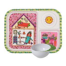 rice Denmark Rice kinderservies set garden lady