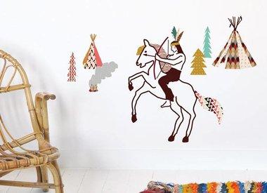 Indianen kinderkamer