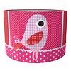 Designed4Kids kinderlamp vogel roze