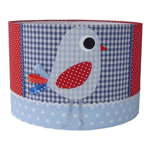 Designed4Kids kinderlamp vogel blauw