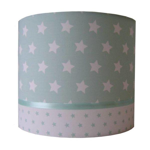Designed4Kids Designed4kids wandlamp sterren groot mint