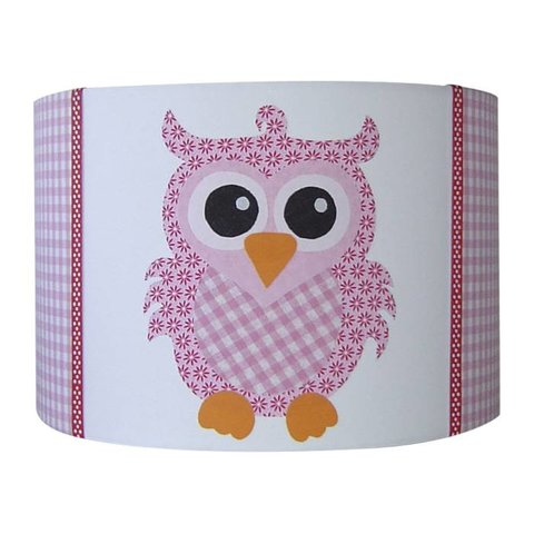 Designed4Kids kinderlamp uil roze