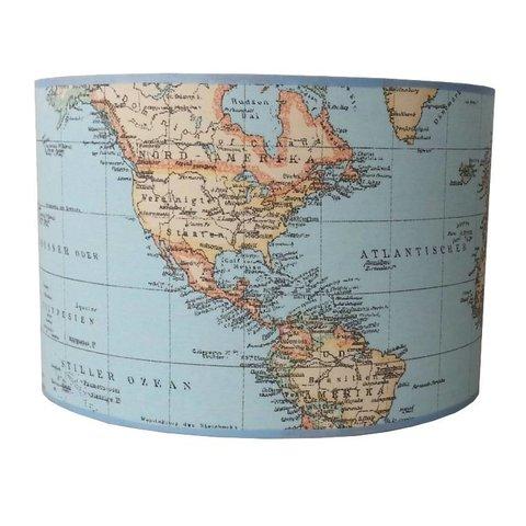 Designed4Kids hanglamp wereldkaart