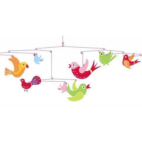Djeco mobiel vogeltjes