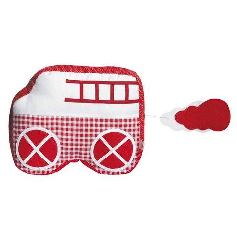 Esthex muziekdoos auto  Charlie rood