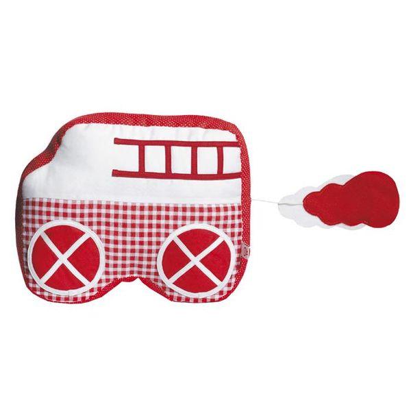 Esthex Esthex muziekdoos auto  Charlie rood