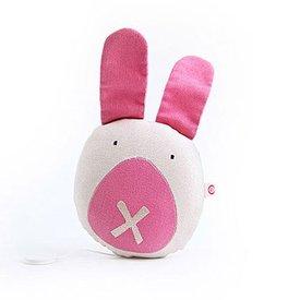 Esthex Esthex muziekdoos konijn Pleun canvas roze