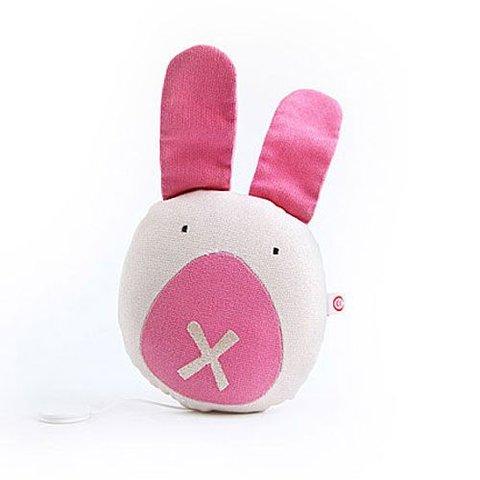 Esthex muziekdoos konijn Pleun canvas roze