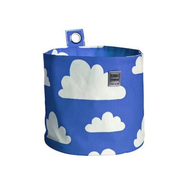Farg & Form Zweden Farg en Form ophangmandje wolken blauw groot