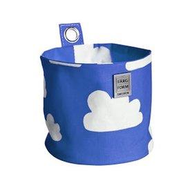 Farg & Form Zweden Farg en Form ophangmandje wolken blauw klein