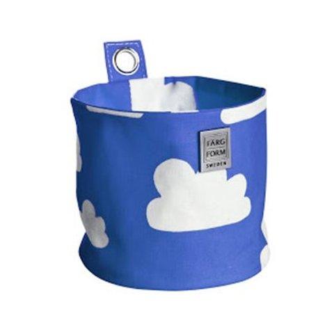 Farg en Form ophangmandje wolken blauw klein