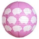 Farg & Form Zweden Farg & Form kinderlamp schaapjes roze