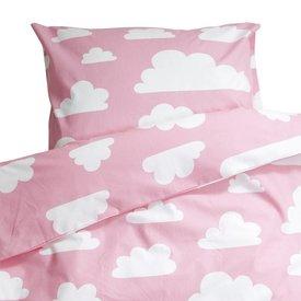 Farg & Form Zweden Farg & Form dekbedovertrek wolkjes roze